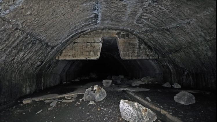 Fotos: Insólita base aérea subterránea de la URSS abandonada vista desde dentro
