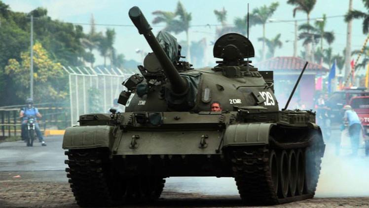 Rusia y Perú negocian la modernización de los tanques T-55