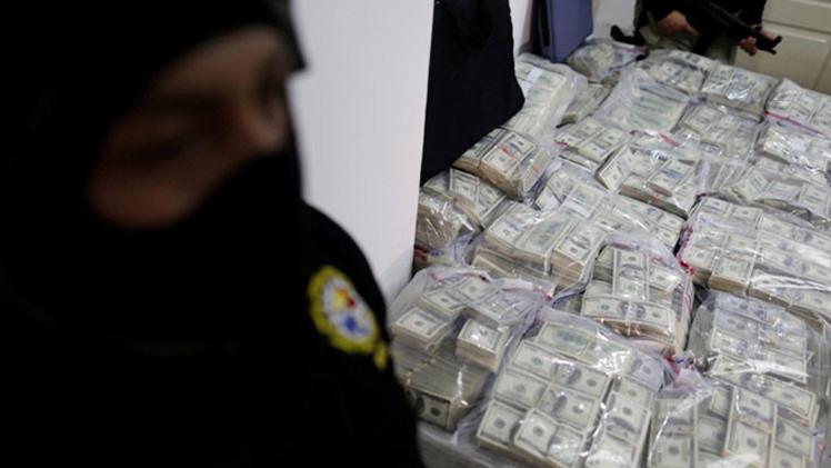 Narcotraficantes colombianos y mexicanos crean 'bancos callejeros' para blanquear dinero en Honduras
