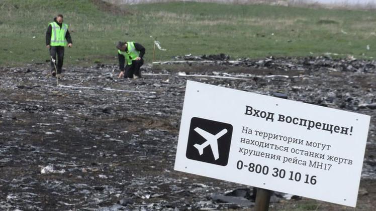 Cancillería de Rusia: la investigación de la catástrofe de MH17 se basaría en 'hechos' de prensa