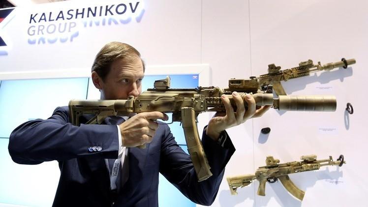 Kaláshnikov 'apunta' hacia América Latina