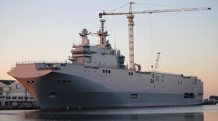 Diputado francés: Negativa de entregar los Mistral a Rusia es un doble error de Hollande