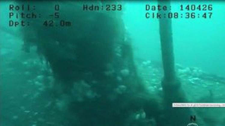 Buzos hallan un submarino portaminas alemán en el mar del Norte
