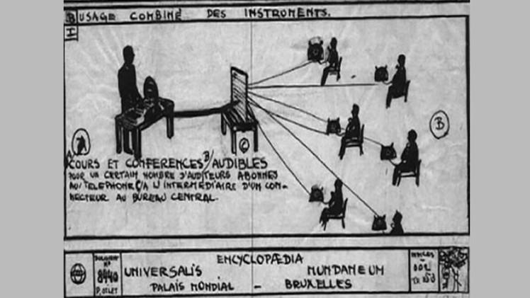 La idea de Internet nació a principios del siglo pasado