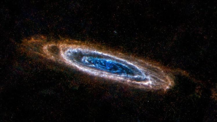 Descubren que las galaxias mueren por estrangulamiento