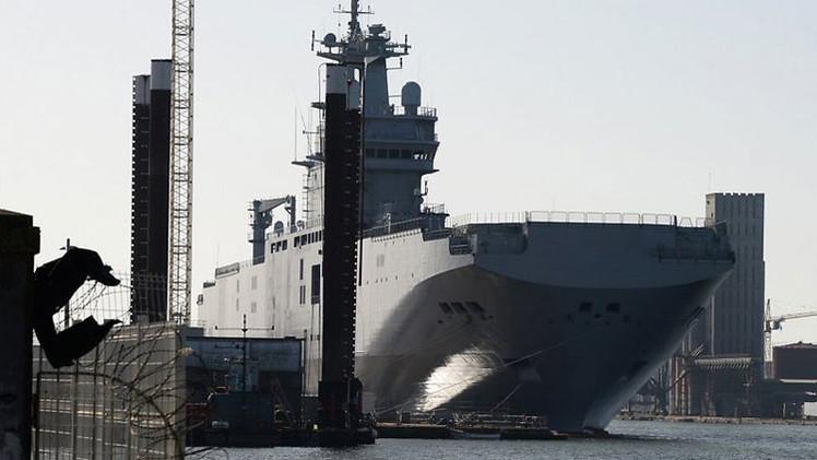 La Marina de Francia no necesita los buques Mistral construidos para Rusia