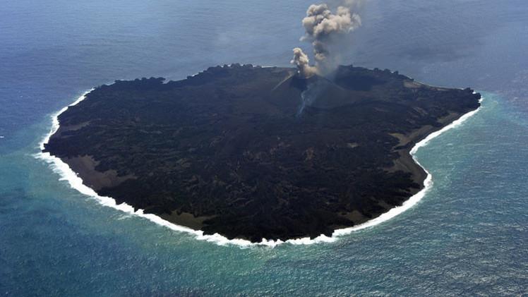 Una nueva isla volcánica de Japón ayudará a comprender cómo surge la vida