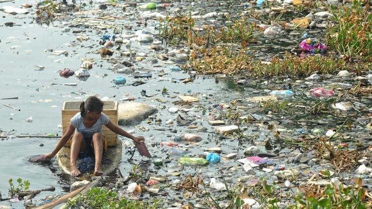 Dramáticas fotos de la terrible destrucción humana del planeta