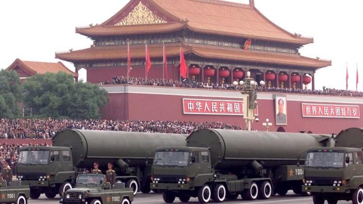 China está actualizando su arsenal nuclear con misiles balísticos de largo alcance