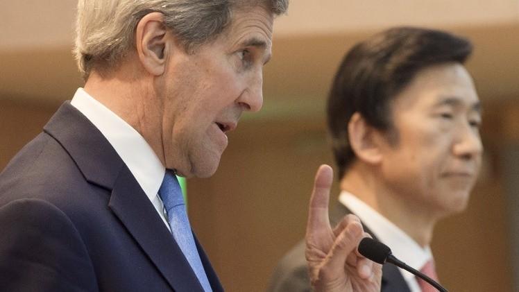 """Kerry: """"EE.UU. estudia introducir sanciones adicionales contra Corea del Norte"""""""