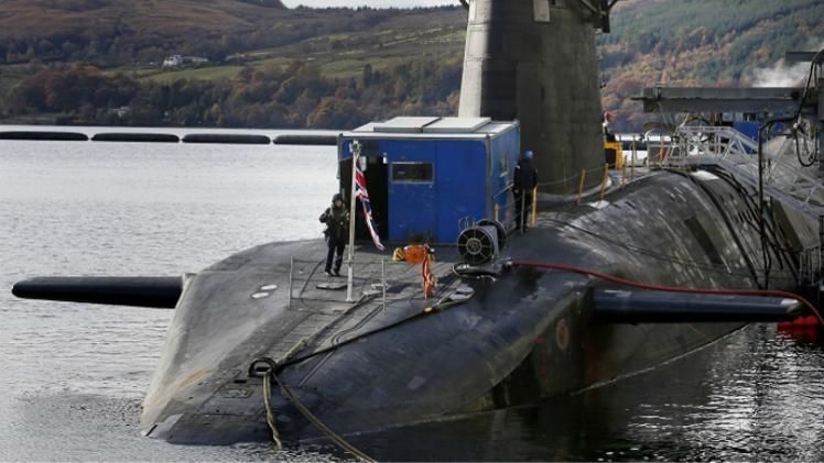"""WikiLeaks: """"El programa naval británico es un inminente desastre nuclear"""""""