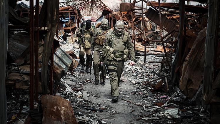 """Moscú: """"No hay tropas rusas en Donbass"""""""