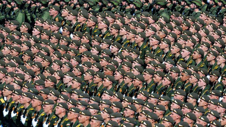 El Ejército de Rusia es el segundo más poderoso del mundo