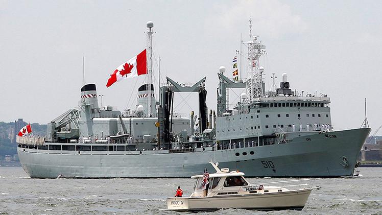 La Marina de Canadá compró en eBay piezas para reparar sus buques