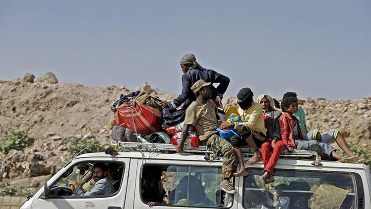 La ONU: El conflicto en Yemen causa medio millón de desplazados