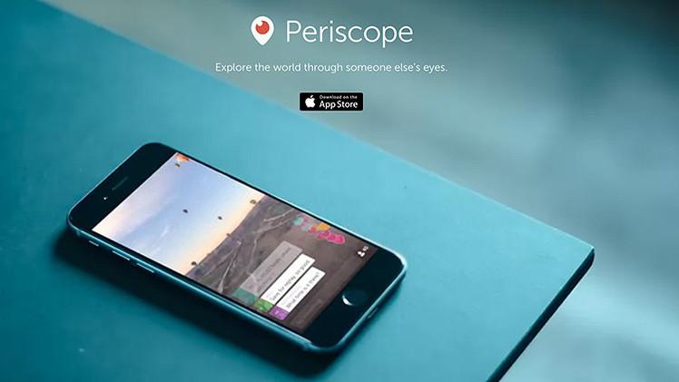 RT usa Periscope, una revolucionaria forma de dar noticias