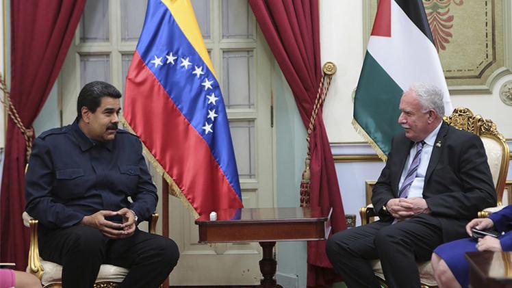 """Maduro: """"Palestina tiene derecho a ser independiente"""""""