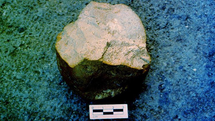¿Quién las hizo?: Hallan herramientas de piedra mucho más antiguas que los primeros humanos