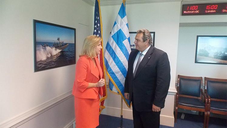 Grecia: El Pentágono exige a Atenas que apoye las sanciones contra Rusia