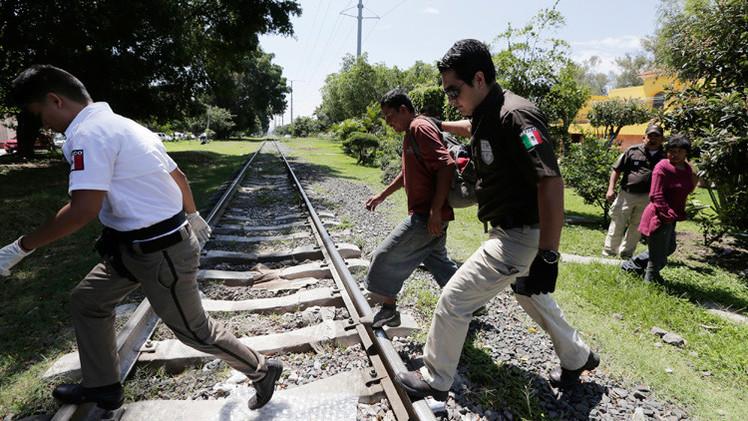 Video impactante: Un presunto maltrato del INM a un migrante sin pies