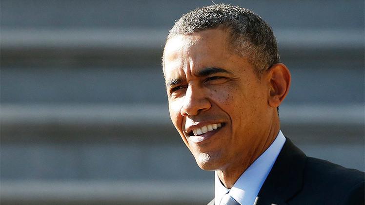 Fotos: Pinturas para denunciar la naturaleza contradictoria de la política exterior de Obama