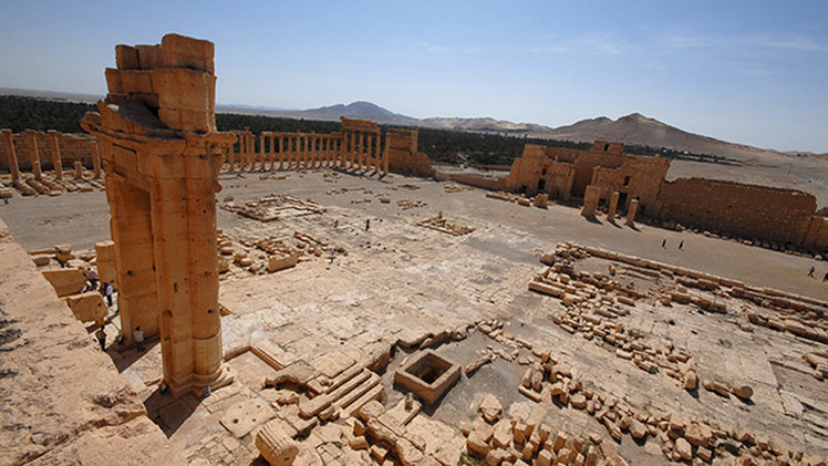 """""""La destrucción de Palmira sería una gran pérdida para toda la humanidad"""""""