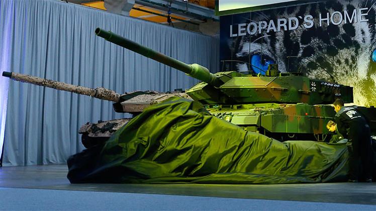 Alemania y Francia crearán su propio tanque en respuesta al Armata ruso