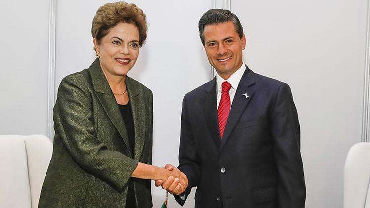 """Rouseff """"abre un nuevo capítulo"""" en las relaciones con México, """"clave en la unidad latinoamericana"""""""