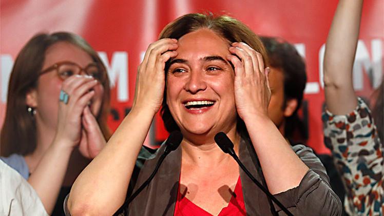 La 'candidata antidesahucios' apoyada por Podemos Ada Colau será la próxima alcaldesa de Barcelona
