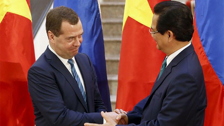 Rusia firma el acuerdo de libre comercio entre la Unión Económica Euroasiática y Vietnam