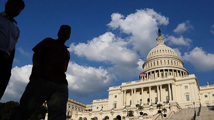 Fotos, video: Detonan una olla a presión encontrada enun vehículo cerca del Capitolio en EE.UU.