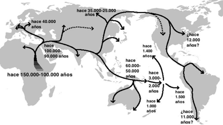 """Mapa interactivo revela cómo los humanos """"se apoderaron"""" de la Tierra: (Video)"""