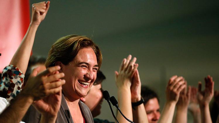 Las fotos de la futura alcaldesa de Barcelona Ada Colau que causan revuelo en la Red