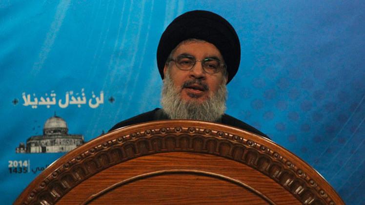 """""""Nadie puede enterrar la cabeza en la arena"""": el líder de Hezbolá llama a luchar contra el EI"""