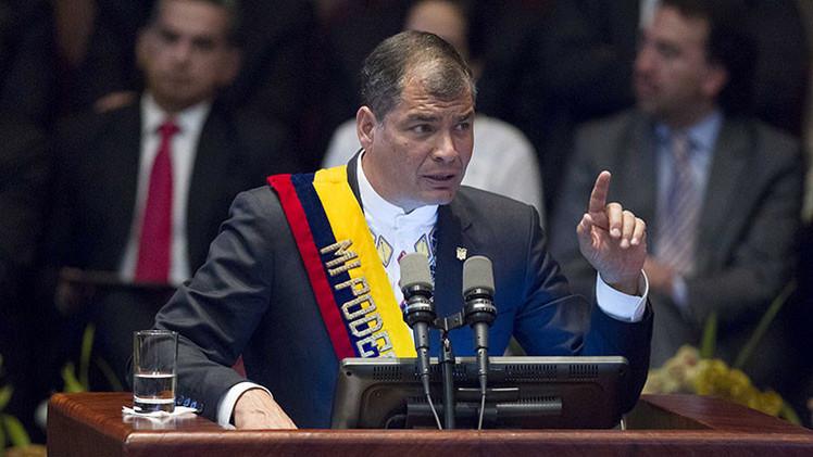 Correa llama a crear un sistema propio de derechos humanos en Latinoamérica