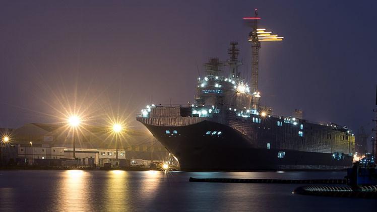 Rusia rechaza los suministros de los buques franceses Mistral