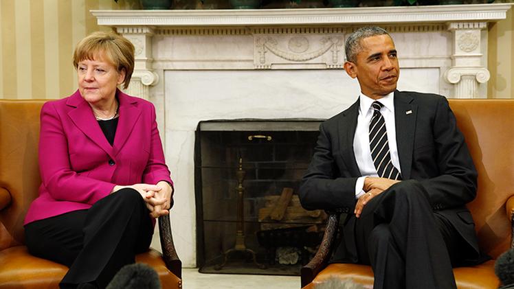 'Bild' asegura que Obama chantajea con no acudir al G-7 si Alemania revela información de espionaje
