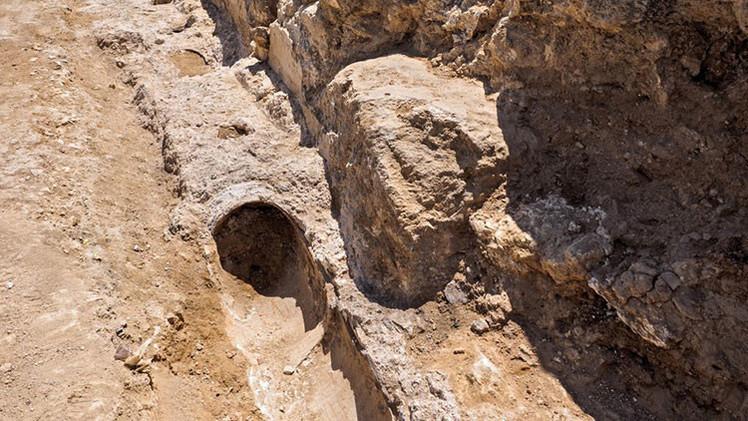 Descubren en Jerusalén un acueducto de 2.000 años de antigüedad