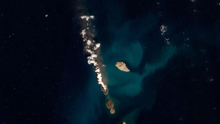 Nueva zona de actividad volcánica: se originan dos nuevas islas en el mar Rojo