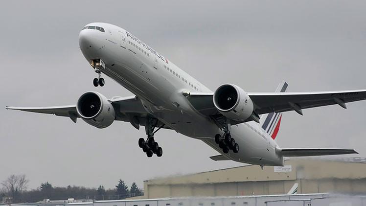 Un Boeing de Air France estuvo a punto de chocar contra un volcán activo en África