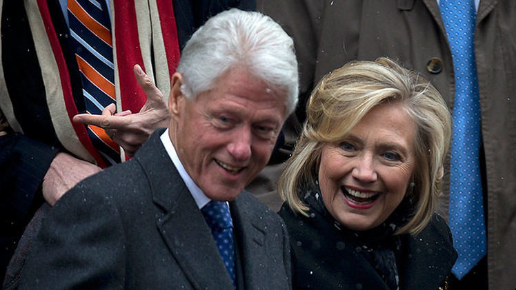 Revelan que Bill Clinton posee una empresa fantasma