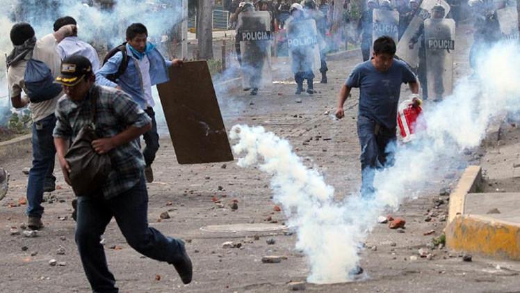 Perú despliega el Ejército en siete regiones para intervenir en nueva huelga minera