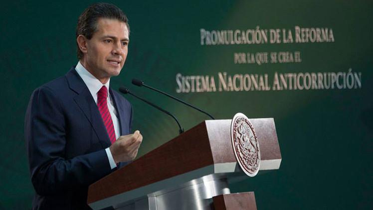 México: Peña Nieto promulga la reforma del Sistema Nacional Anticorrupción