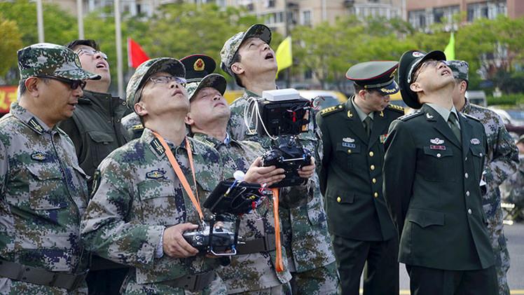 Revelan imágenes del 'Águila divina', sofisticado dron chino que caza aviones 'stealth'