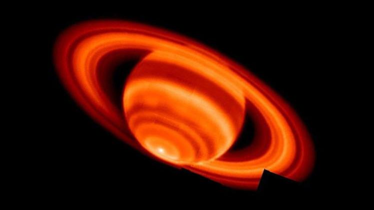 No se pierda el acercamiento de la Luna y Saturno durante la noche del próximo lunes