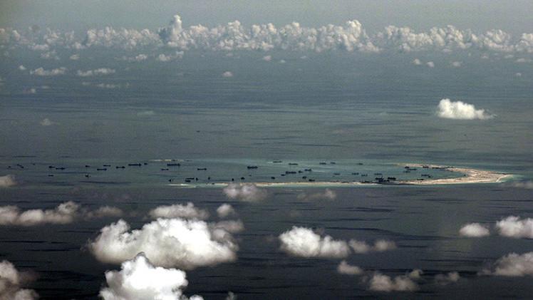 """EE.UU. exige un """"cese inmediato"""" de las reclamaciones en el mar de la China Meridional"""