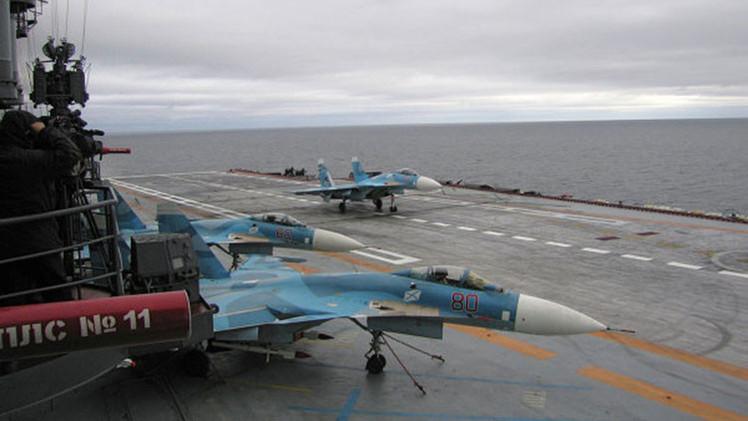 Rusia está diseñando el portaaviones del futuro, reemplazo del Almirante Kuznetsov