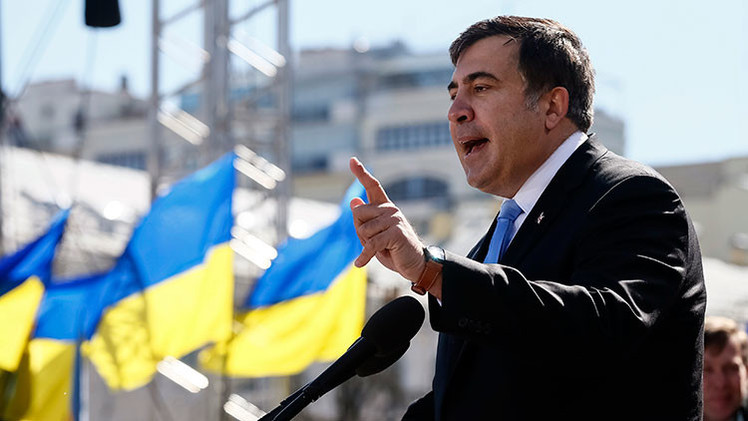 Saakashvili, designado gobernador de Odesa en Ucrania