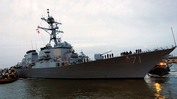Revelan cómo repelió Rusia un destructor de EE.UU. de sus fronteras en el mar Negro