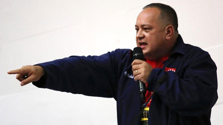 Venezuela: Diosdado Cabello demandará a diarios 'ABC' y 'Wall Street Journal'